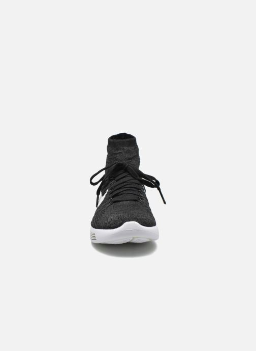 Scarpe sportive Nike Wmns Nike Lunarepic Flyknit Nero modello indossato