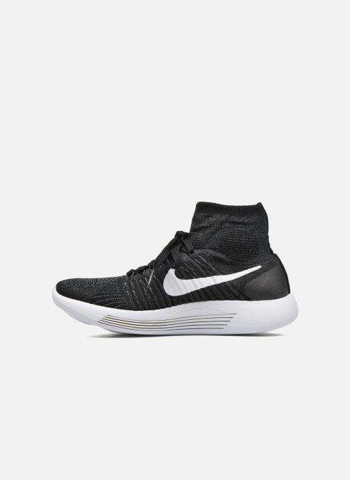 Zapatillas de deporte Nike Wmns Nike Lunarepic Flyknit Negro vista de frente