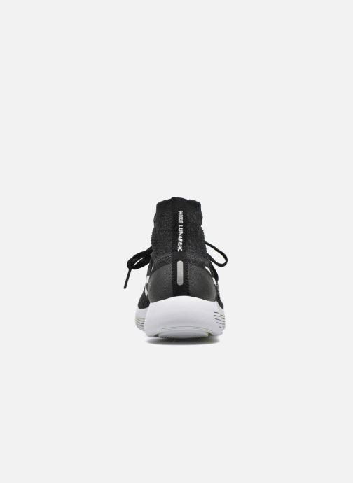 Chaussures de sport Nike Wmns Nike Lunarepic Flyknit Noir vue droite
