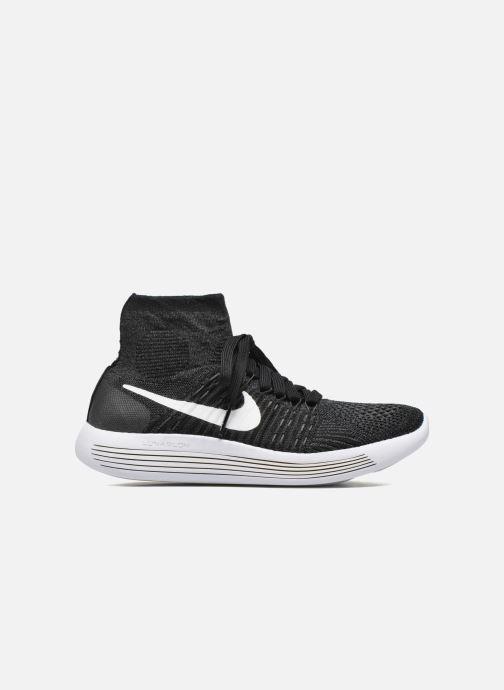Zapatillas de deporte Nike Wmns Nike Lunarepic Flyknit Negro vistra trasera