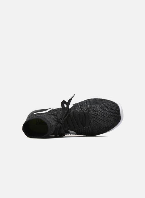 Chaussures de sport Nike Wmns Nike Lunarepic Flyknit Noir vue gauche