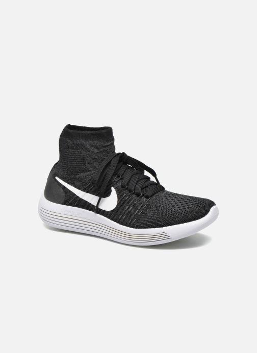 Chaussures de sport Nike Wmns Nike Lunarepic Flyknit Noir vue détail/paire