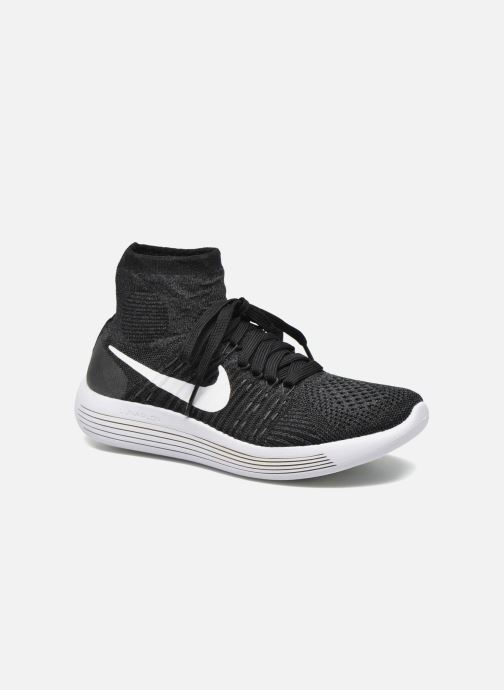 bca1dbaad2be Sport shoes Nike Wmns Nike Lunarepic Flyknit Black detailed view  Pair view