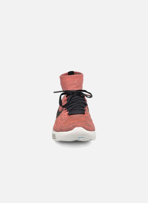 Sport shoes Nike Wmns Nike Lunarepic Flyknit Brown model view