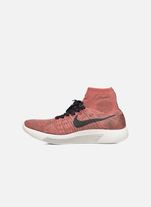 Chaussures de sport Nike Wmns Nike Lunarepic Flyknit Marron vue face