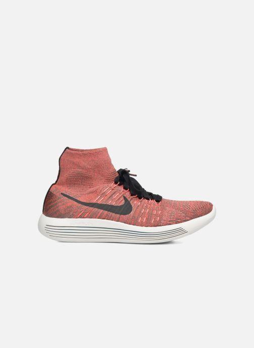 Sport shoes Nike Wmns Nike Lunarepic Flyknit Brown back view