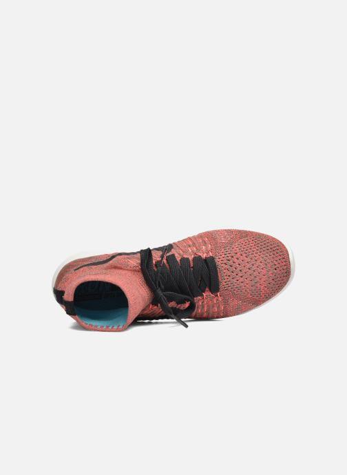 Chaussures de sport Nike Wmns Nike Lunarepic Flyknit Marron vue gauche