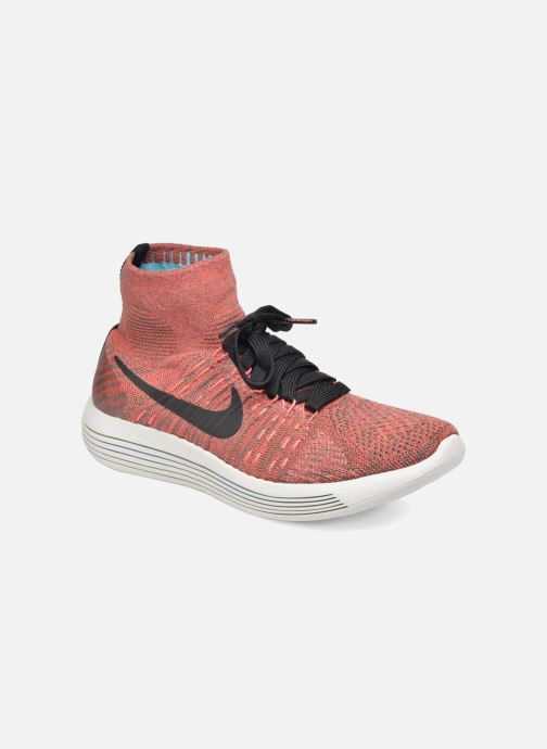 Sport shoes Nike Wmns Nike Lunarepic Flyknit Brown detailed view/ Pair view