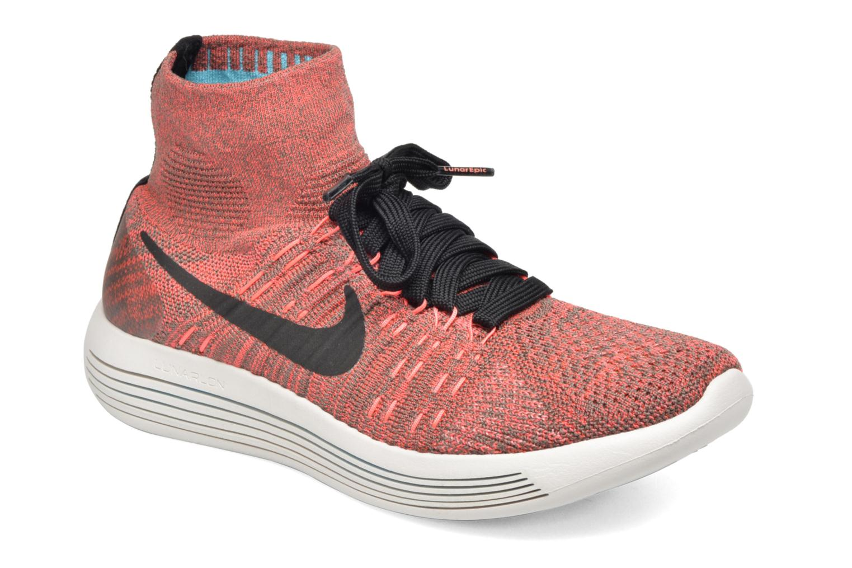 Sportssko Nike Wmns Nike Lunarepic Flyknit Brun detaljeret billede af skoene