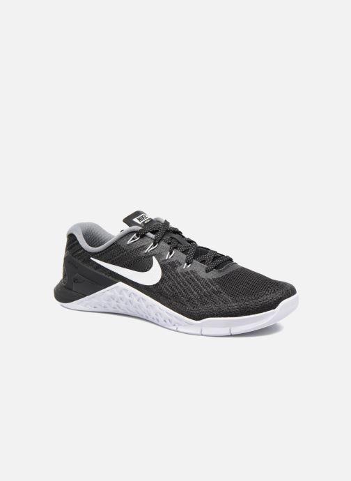 d88d9b6607d73 Zapatillas de deporte Nike Wmns Nike Metcon 3 Negro vista de detalle   par