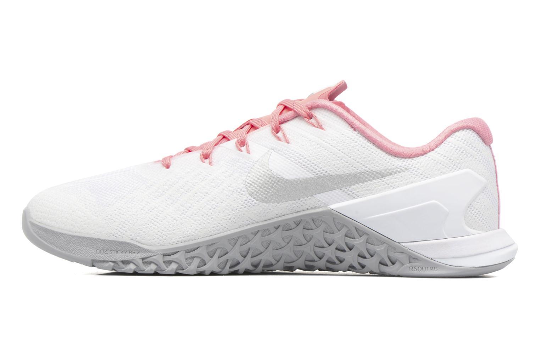 Chaussures de sport Nike Wmns Nike Metcon 3 Blanc vue face