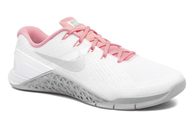 Chaussures de sport Nike Wmns Nike Metcon 3 Blanc vue détail/paire