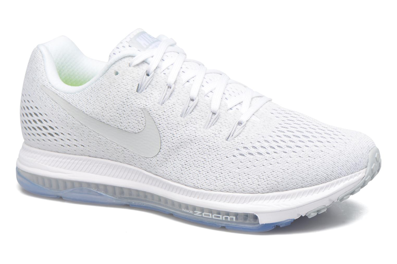 Chaussures de sport Nike Wmns Nike Zoom All Out Low Blanc vue détail/paire