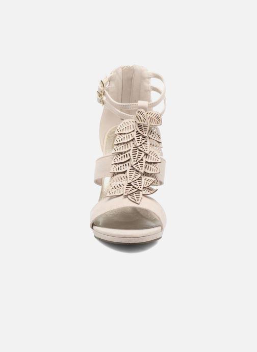 Sandales et nu-pieds Bullboxer Laline Beige vue portées chaussures