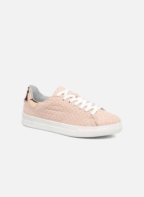 Baskets I Love Shoes MC ETASSI Rose vue détail/paire