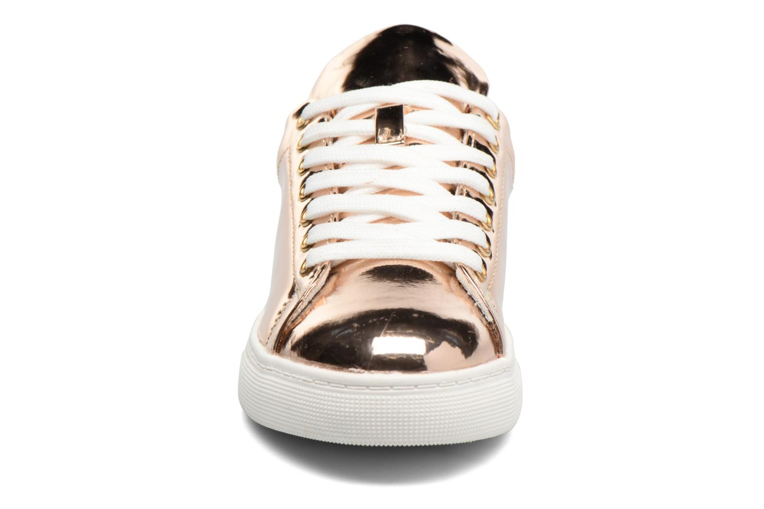 Sneakers I Love Shoes MC ETASSI Oro e bronzo modello indossato