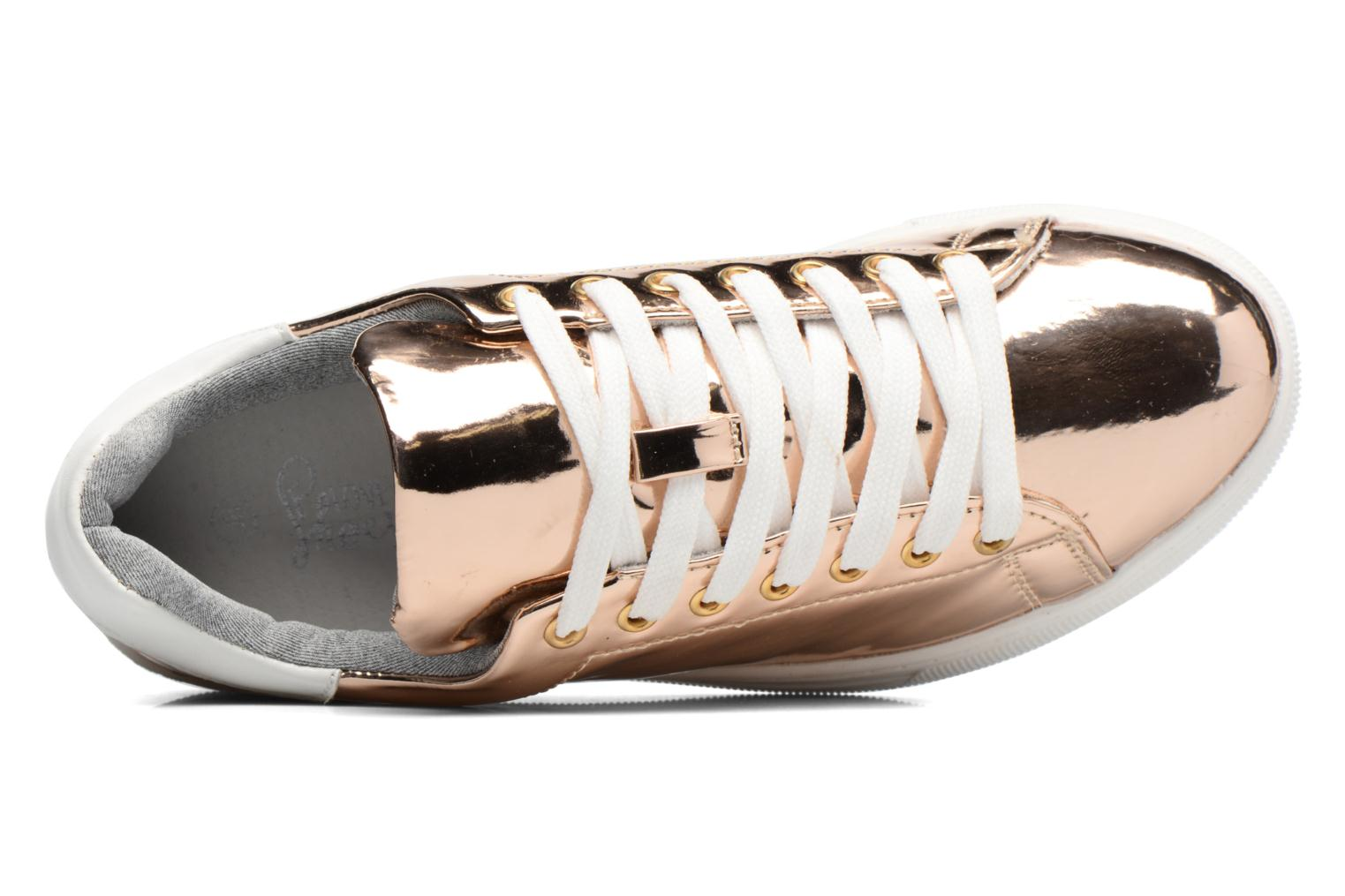 Sneakers I Love Shoes MC ETASSI Oro e bronzo immagine sinistra