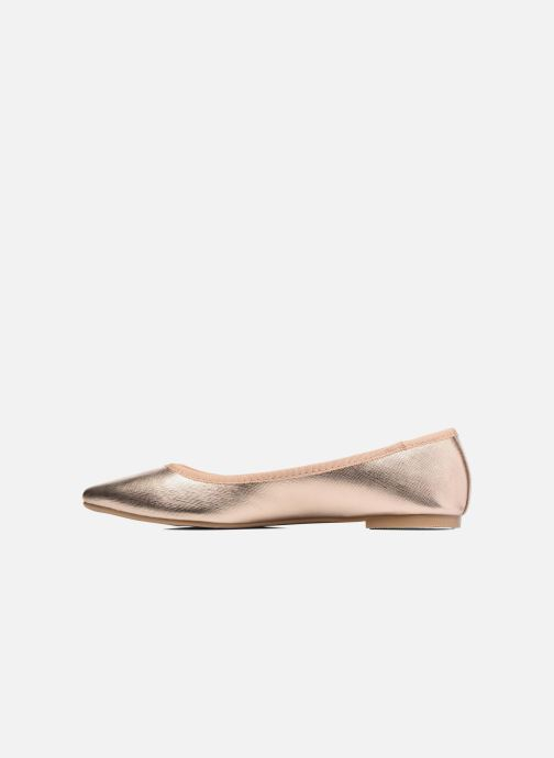 Ballerines I Love Shoes MC ANAS Or et bronze vue face