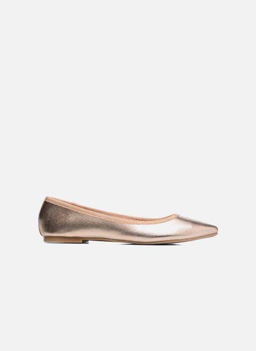 Ballerines I Love Shoes MC ANAS Or et bronze vue derrière