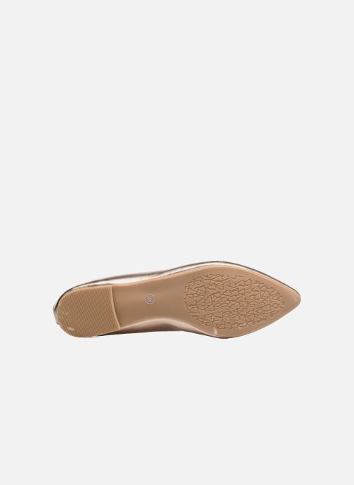 Ballerines I Love Shoes MC ANAS Or et bronze vue haut
