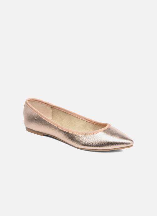 Ballerines I Love Shoes MC ANAS Or et bronze vue détail/paire
