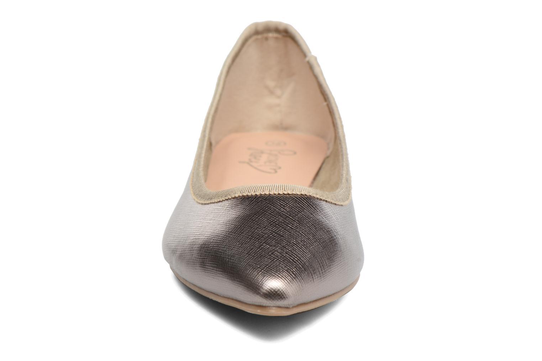 Ballerines I Love Shoes MC ANAS Argent vue portées chaussures