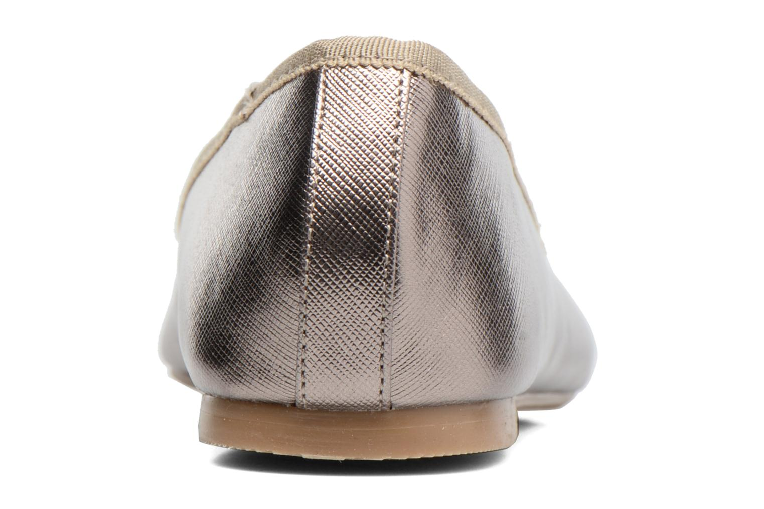 Ballet pumps I Love Shoes MC ANAS Silver view from the right
