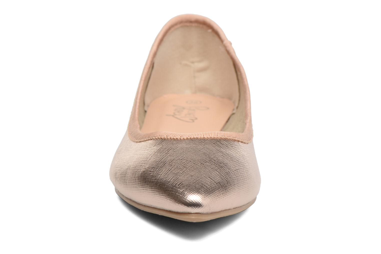 Ballerinas I Love Shoes MC ANAS gold/bronze schuhe getragen