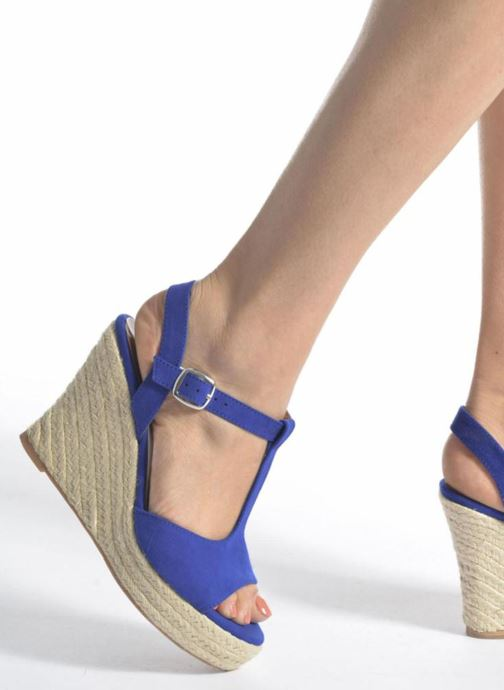 Alpargatas I Love Shoes MCADA Negro vista de abajo