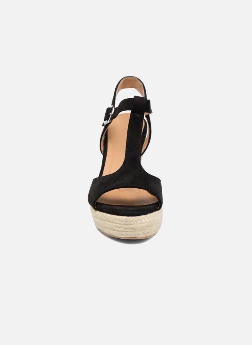Alpargatas I Love Shoes MCADA Negro vista del modelo