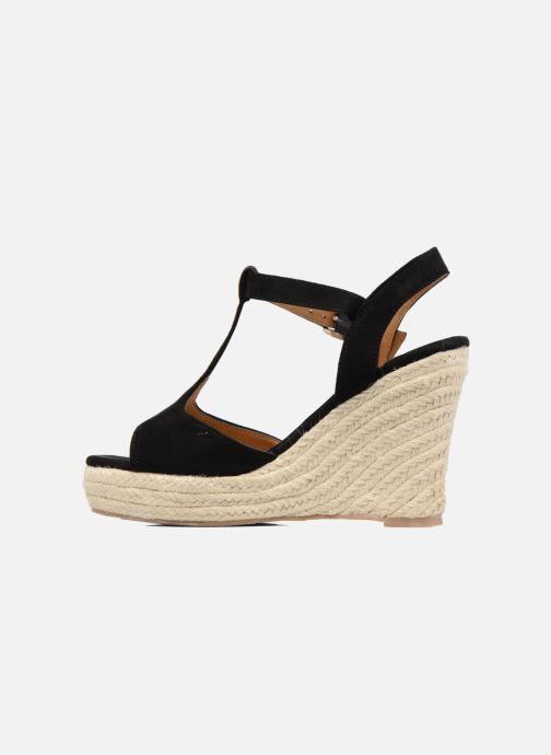 Alpargatas I Love Shoes MCADA Negro vista de frente