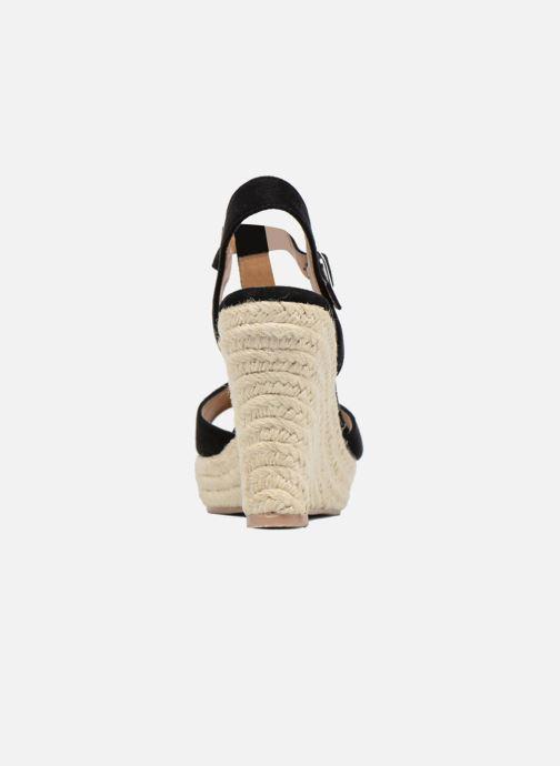 Alpargatas I Love Shoes MCADA Negro vista lateral derecha