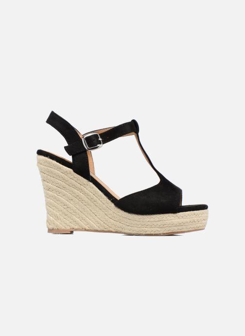 Alpargatas I Love Shoes MCADA Negro vistra trasera
