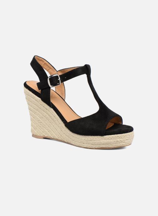Alpargatas I Love Shoes MCADA Negro vista de detalle / par