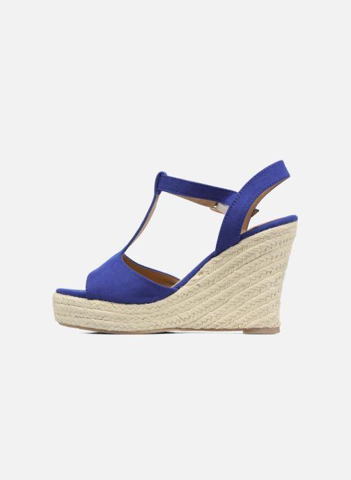 Espadrilles I Love Shoes MCADA Bleu vue face