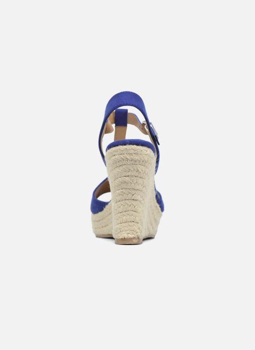 Espadrilles I Love Shoes MCADA Bleu vue droite