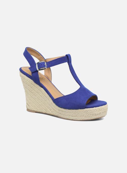 Espadrilles I Love Shoes MCADA Bleu vue détail/paire