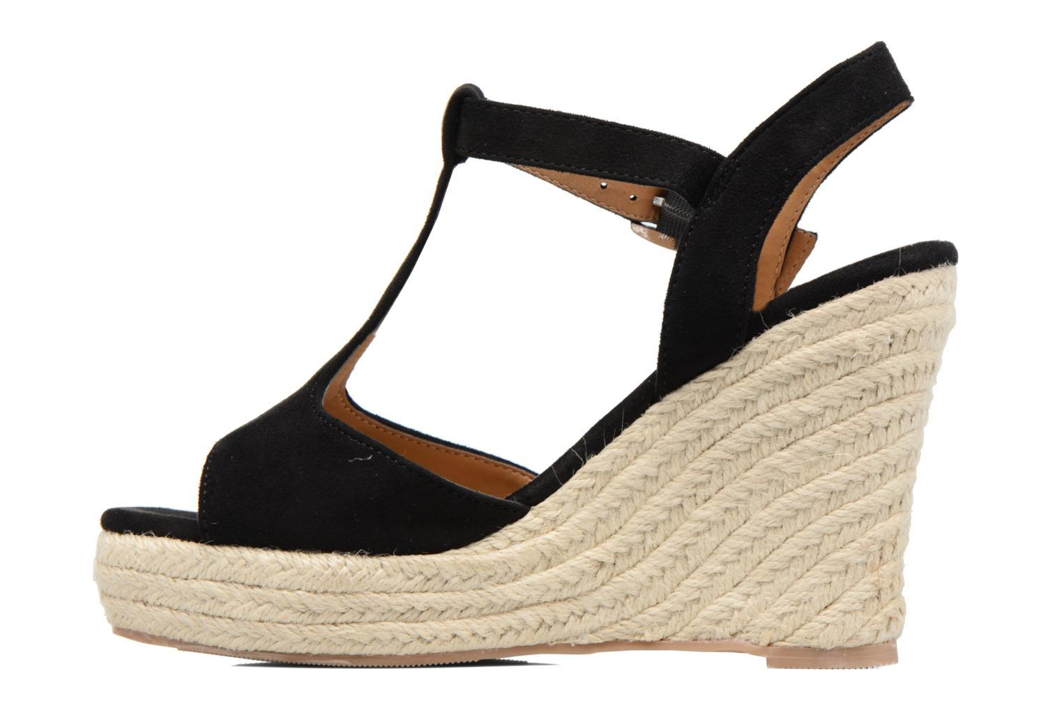 Espadrilles I Love Shoes MCADA Noir vue face