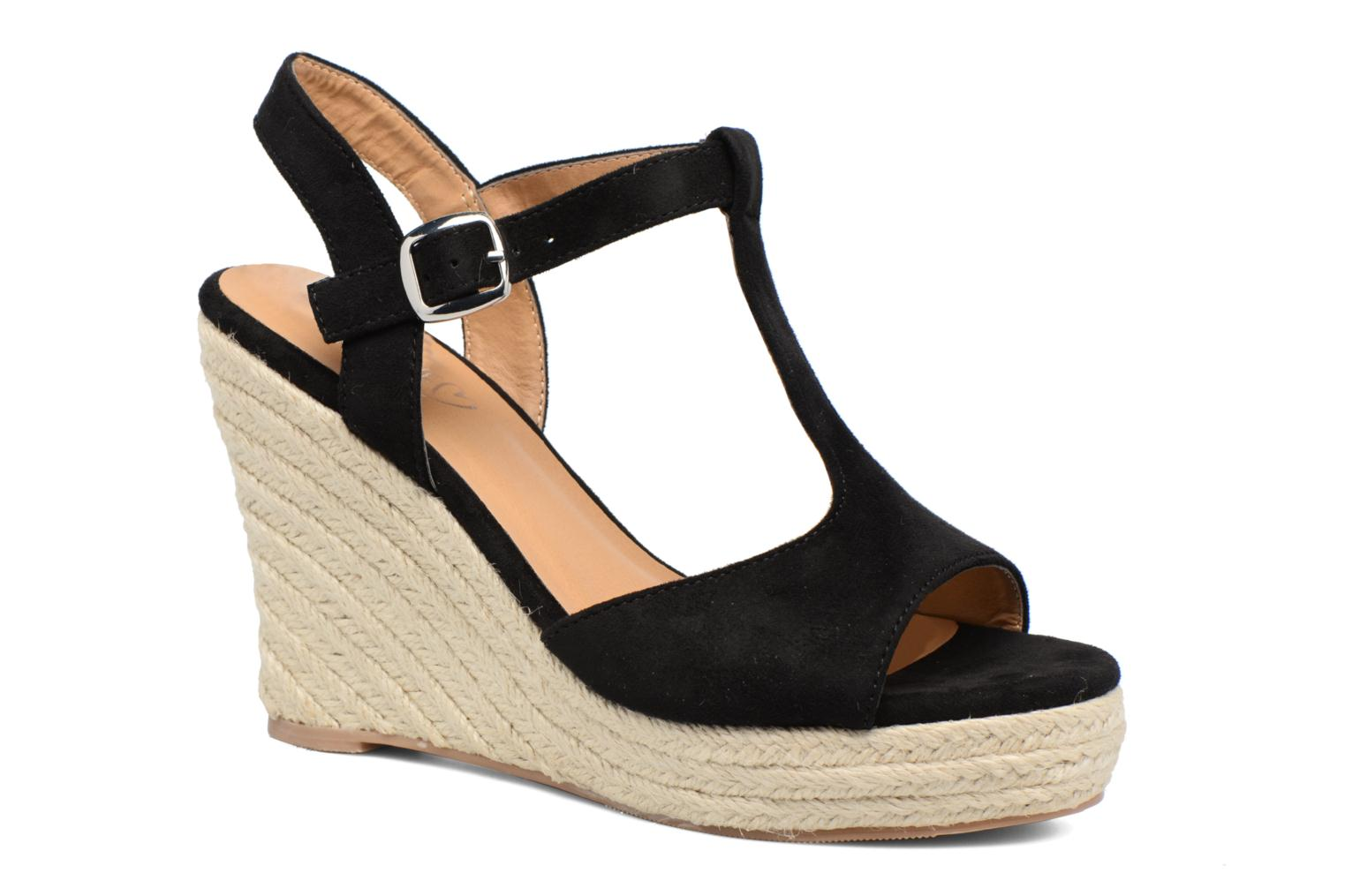 Espadrilles I Love Shoes MCADA Black detailed view/ Pair view