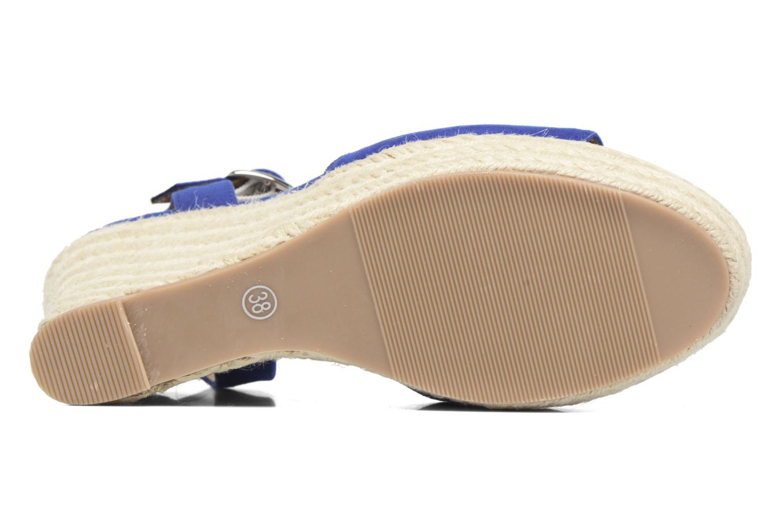 Alpargatas I Love Shoes MCADA Azul vista de arriba