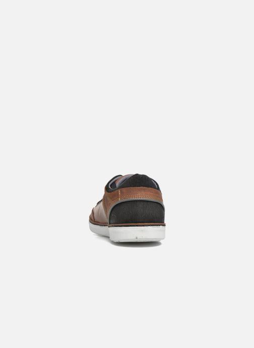 Sneakers Bullboxer Mael Marrone immagine destra