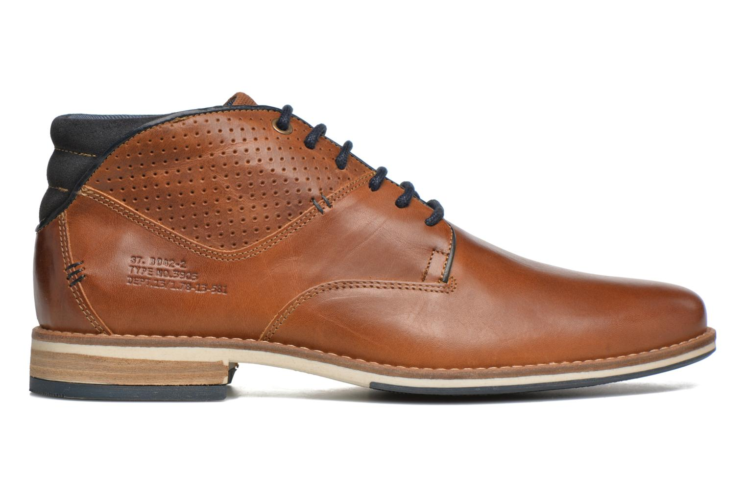 Ankle boots Bullboxer Joe 2 Brown back view