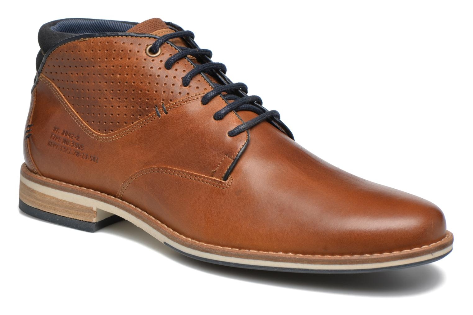 Ankle boots Bullboxer Joe 2 Brown detailed view/ Pair view