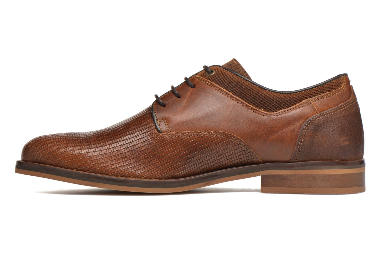 Zapatos con cordones Bullboxer Mallow Marrón vista de frente