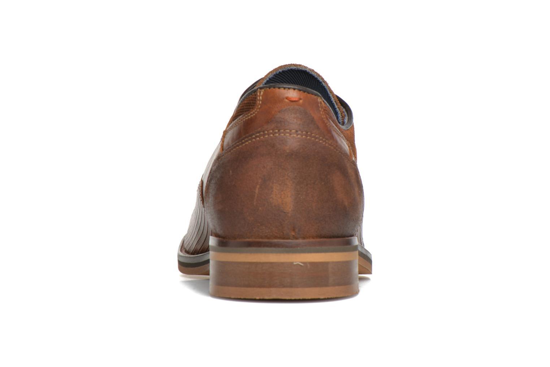Zapatos con cordones Bullboxer Mallow Marrón vista lateral derecha