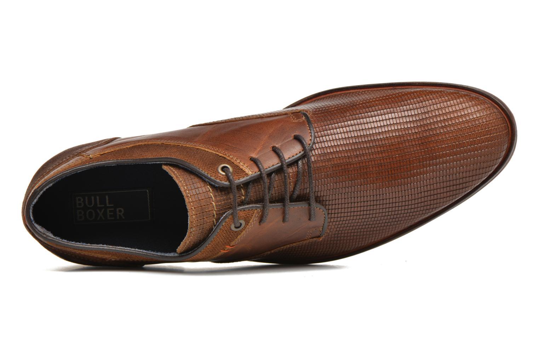 Zapatos con cordones Bullboxer Mallow Marrón vista lateral izquierda