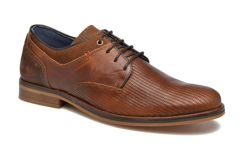 Zapatos con cordones Bullboxer Mallow Marrón vista de detalle / par