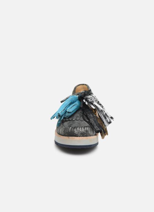 Mocassins Melvin & Hamilton Bea 4 Gris vue portées chaussures