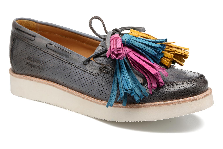 Loafers Melvin & Hamilton Bea 4 Grå detaljeret billede af skoene