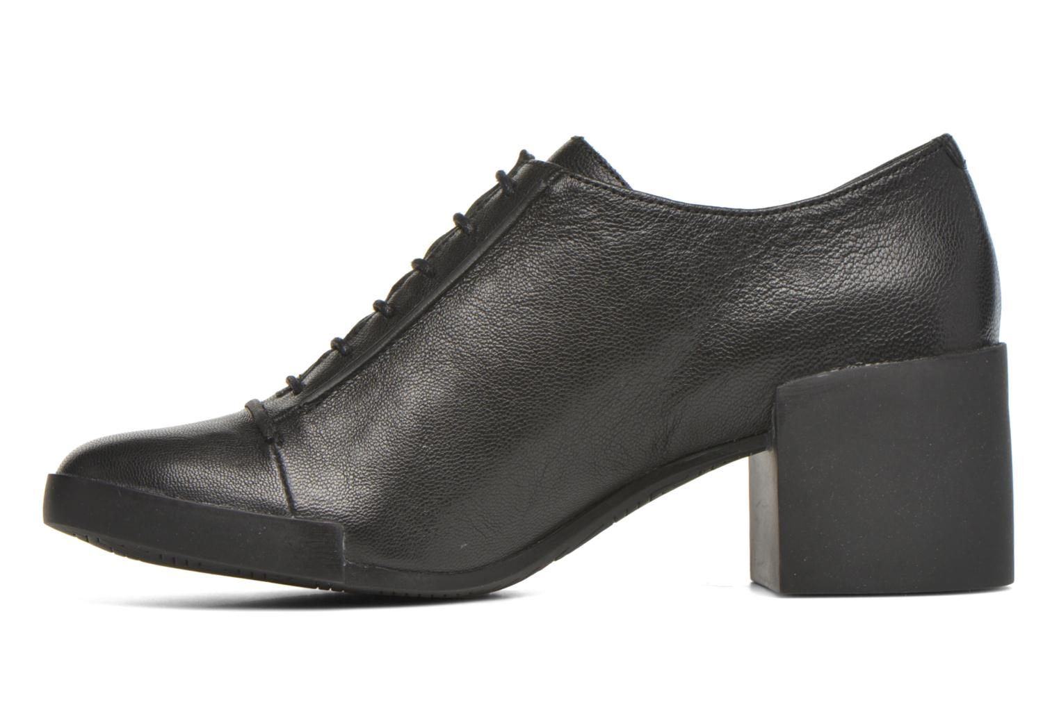 Ankle boots Camper Lotta Lace Black front view